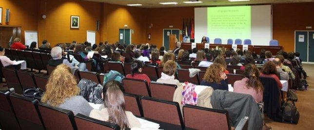 Foro de Infancia y Adolescencia, Hospital Clínico, Málaga, encuentro, sanitarios