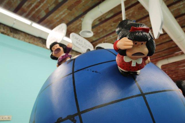 Exposición de Mafalda en La Térmica.