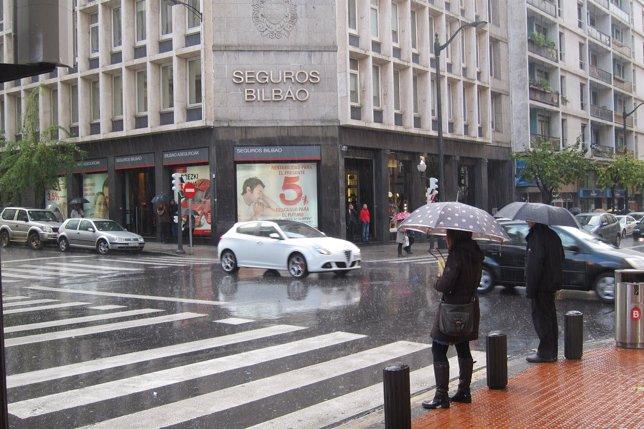 Paso de peatones en Bilbao