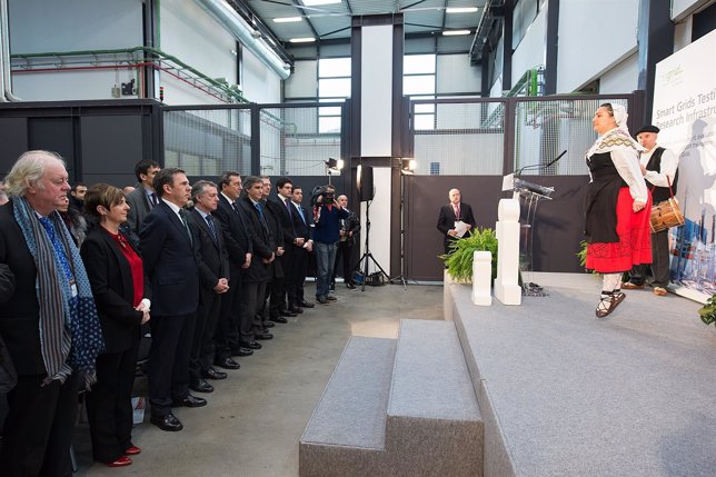 Inauguración laboratorios Tecnalia