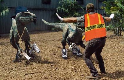 El trailer de Jurassic World que parodia la producción de Steven Spielberg