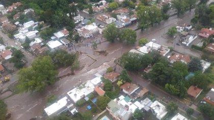 Ya son seis los muertos por el temporal en Córdoba, Argentina