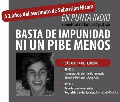 El crimen del joven argentino Sebastián Nicora continúa impune dos años después