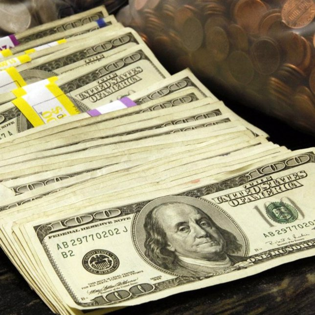 Recurso de billetes y monedas de dólar estadounidense