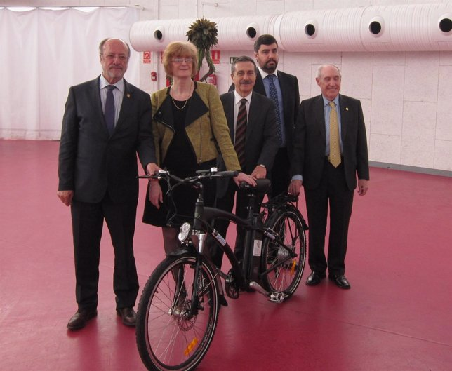 Representantes de Valladolid, Nottingham, Tepebasi y la empresa Cartif
