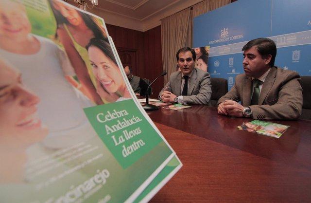 Nieto y Ruiz Madruga en la rueda de prensa