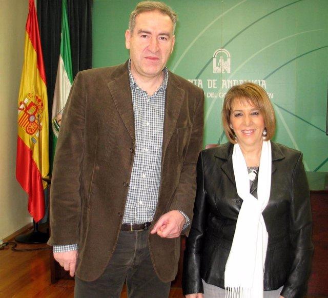 Sebastián Quirós y Purificación Gálvez.