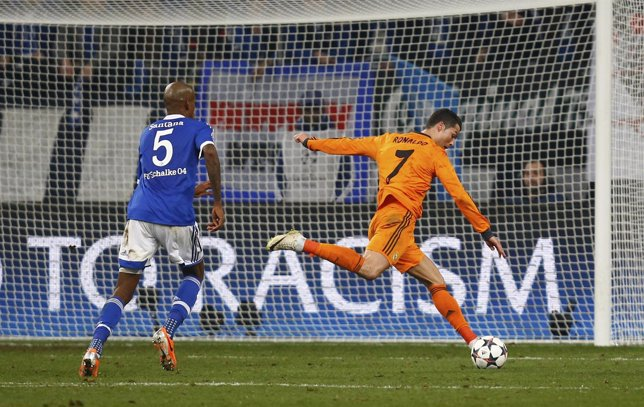 Real Madrid Ronaldo Schalke