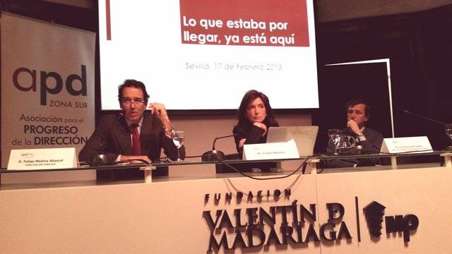 Momento de la conferencia