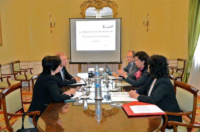 Presentación de la Plataforma de Rendición de Cuentas
