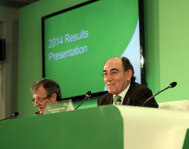 Iberdrola gana 2.326,5 millones en 2014
