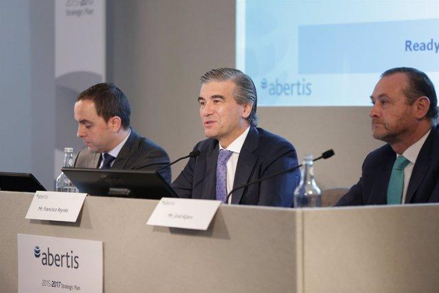 Consejero delegado de Abertis, Francisco Reynés