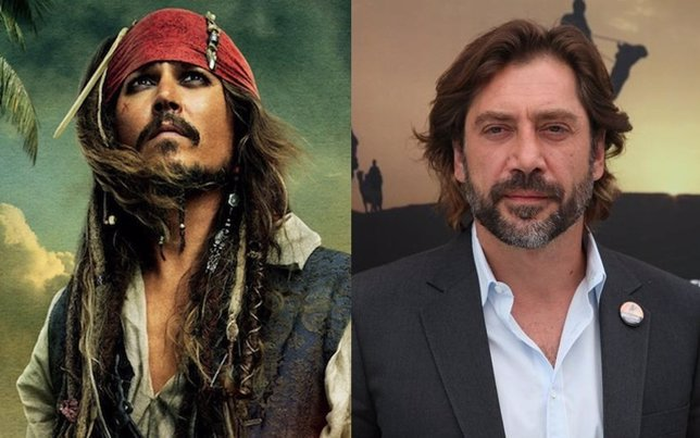Javier Bardem en Piratas del Caribe 5