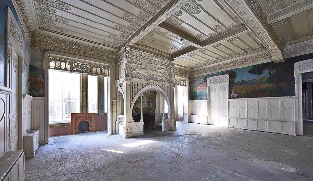 Interior de la Casa Burés de Barcelona