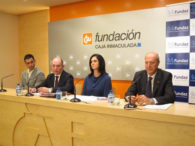 La doctora ha presentado sus avances esta tarde en la sala CAI Luzán en Zaragoza