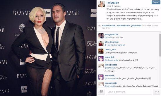 Lady Gaga y Taylor Kinney