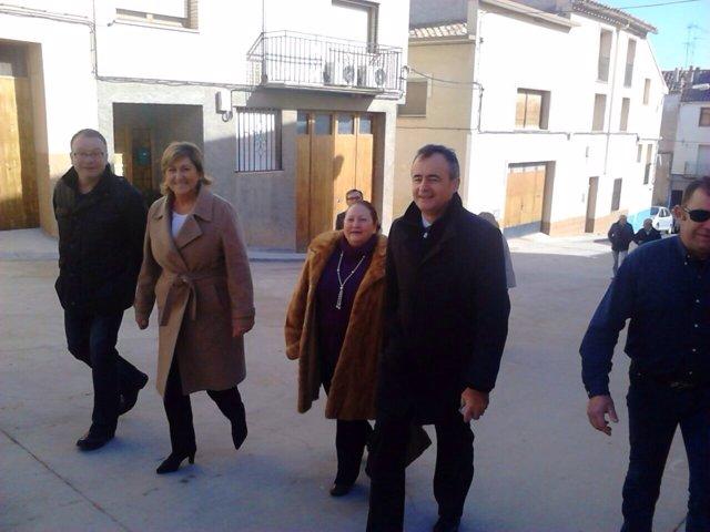 NOTA PRENSA /FOTO: Pobo Inaugura El Nuevo Tanatorio De Castelserás.