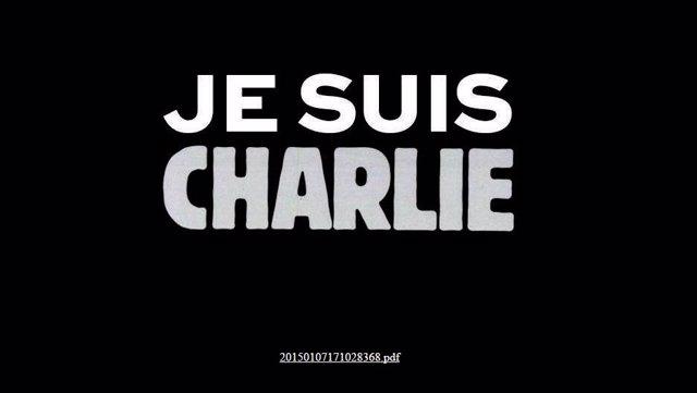 Página web de 'Charlie Hebdo'