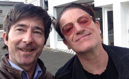 Imagen: Bono de U2 se recupera de su aparatoso accidente de bicicleta