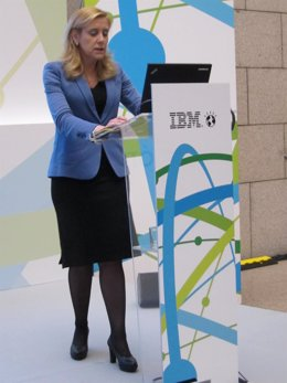 La presidenta de IBM España, Marta Martínez