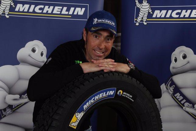 Nani Roma en un acto con Michelin