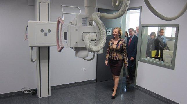 Rudi visita el nuevo centro de especialidades Inocencio Jiménez-Delicias