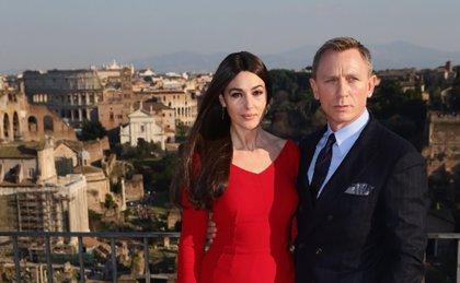 Monica Bellucci y Daniel Craig toman Roma con el rodaje de Spectre