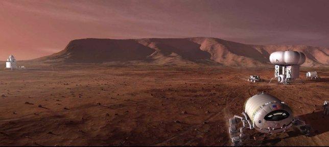 Base permanente en Marte