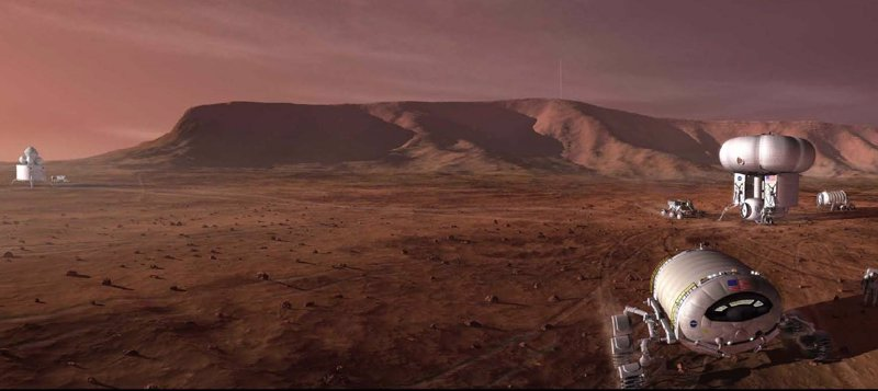 Un sistema para respirar en Marte con oxígeno reciclado