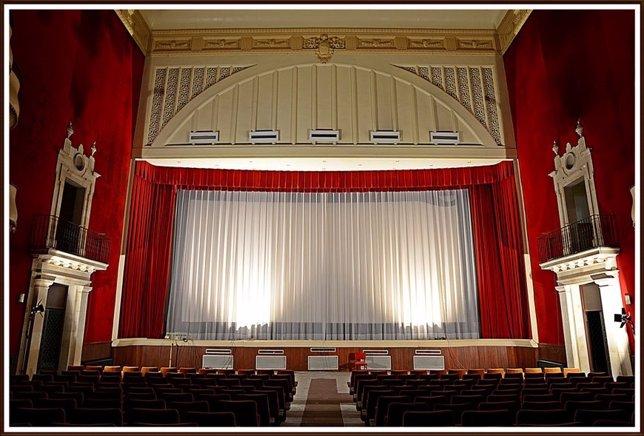 Imagen de archivo del Teatre Principal de Inca, que está siendo reformado
