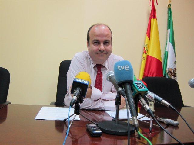 El juez de lo Mercantil, Fernando Caballero