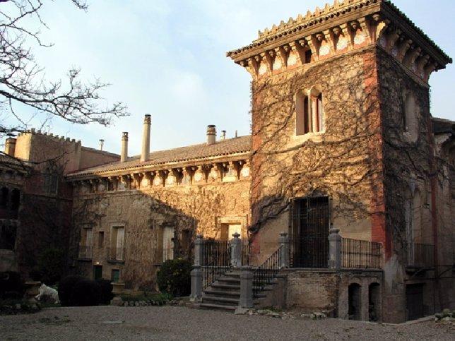 Palacio de los Duques de Villahermosa, en Pedrola (Zaragoza)
