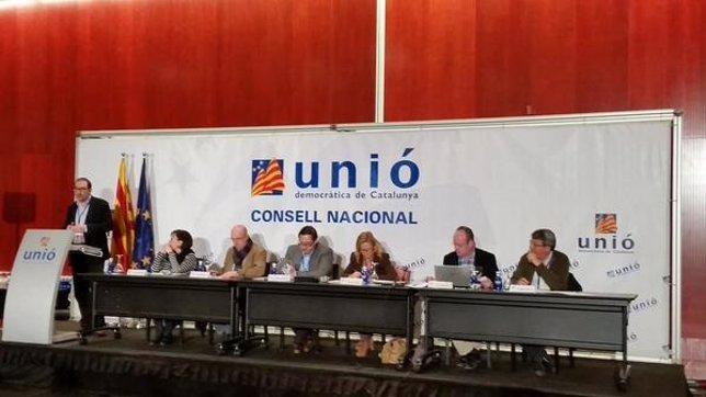 R.Espadaler, en el Consell Nacional de UDC