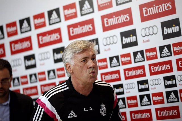 Ancelotti en rueda de prensa