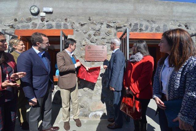 Inauguración del Centro de Interpretación Vulcanológico de El Hierro