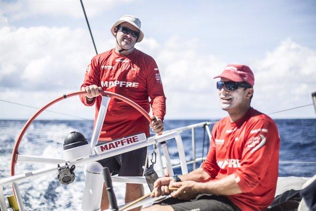 Rafa Trujillo Carlos Hernández MAPFRE Volvo Ocean Race