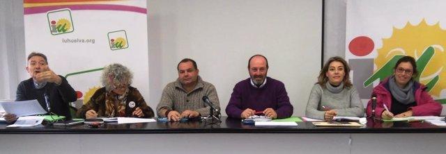 El Consejo Provincial de Izquierda Unida en Huelva