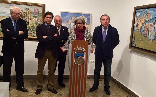 Academia San Telmo expone en Vélez