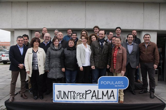 Conclusiones del acto 'Junts per Palma'