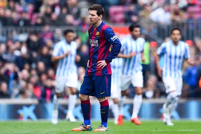 El FC Barcelona cae ante el Málaga