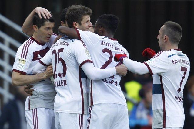 El Bayern de Múnich golea en la Bundesliga