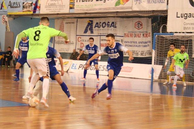 El Inter Movistar golea al Prone Lugo