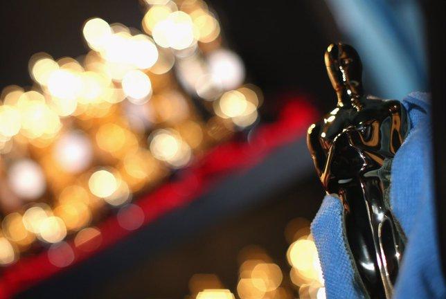 Estatuilla de Oscar.