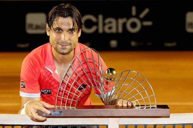 David Ferrer gana el torneo de Río de Janeiro