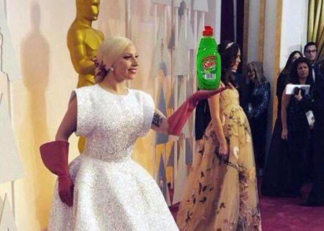 Lady Gaga y sus mejores memes: la 'chacha' oficial de los Oscar 2015