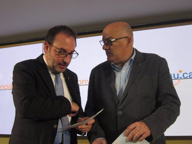Ramon Espadaler (UDC) Lluís Maria Corominas (CDC) CiU