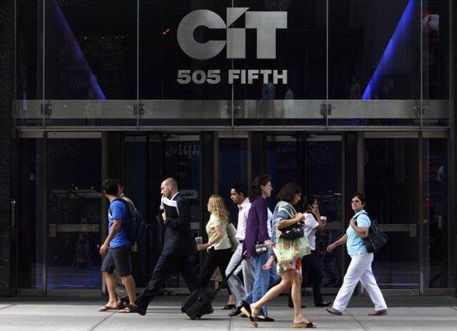 Recurso de las oficinas de la financiera CIT en Nueva York