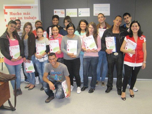 Participantes en el proyecto Itinerarios Horizontales de Jóvenes en la Empresa