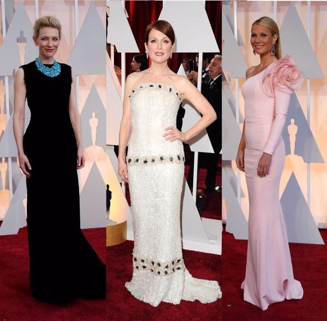 Mejor vestidas de los premios Oscar 2015