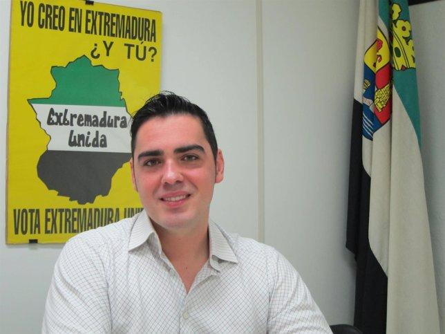 José María Gijón, secretario general de Extremadura Unida